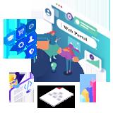 Java portal development